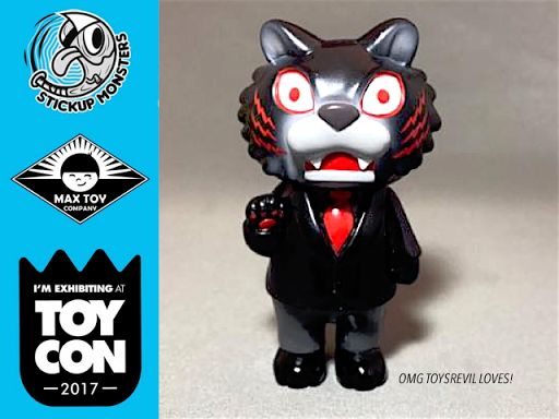 #ToyConUK Exclusive Colorway for TIGER BOSS by Javier Jiménez x Max Toy Co Revealed!