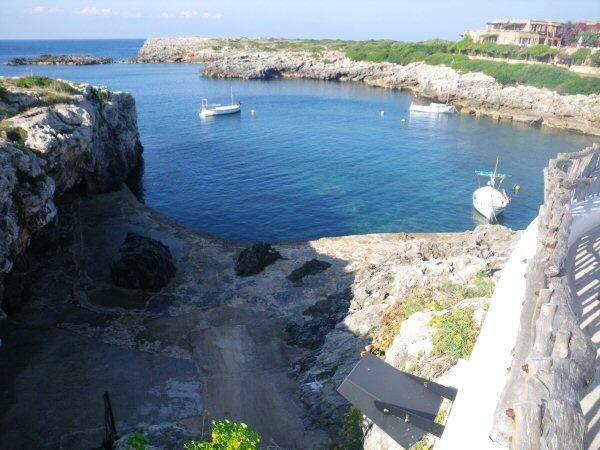 Binibeca Vell Menorca Harbour.