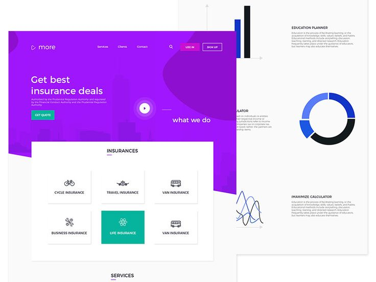Insurance Agency - Landing Page