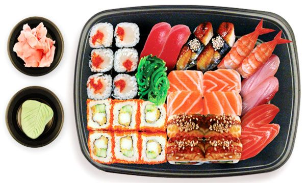 Калорийность суши. Об этом вы должны знать!