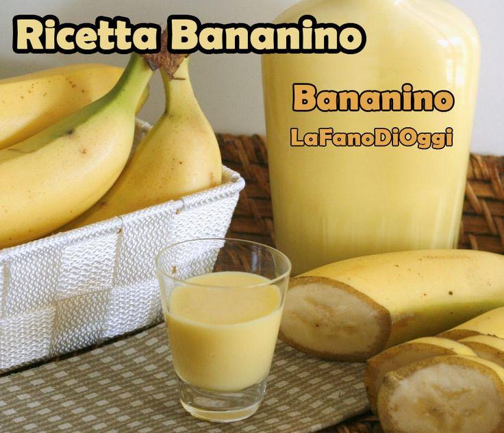 del Bananino – 2 Litri – 0,5 litri di alcool puro 95° – 1 litro di latte – 0,750 kg di zuccero – 0,5 kg di banane mature – 0,5 bustina di vanillina o 0,5 stecca di vaniglia.  Tagliare a fette le banane mature e metterle in un vaso capiente almeno un litro. Aggiungere alcool puro, chiudere bene il coperchio e lasciar riposare per 8 giorni. Trascorsi gli otto giorni, bollire il latte con lo zucchero e la vanillina (o la mezza stecca di vaniglia), farlo raffreddare poi bollire il composto una…