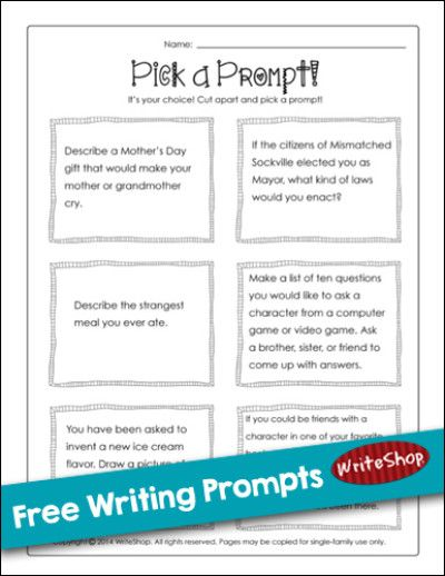 How to write a prompt essay