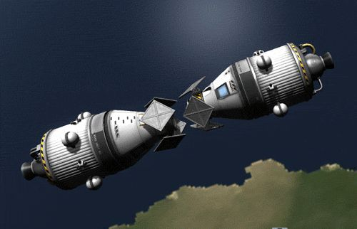 Anyone who's played Kerbal Space Program knows how complicated docking is.