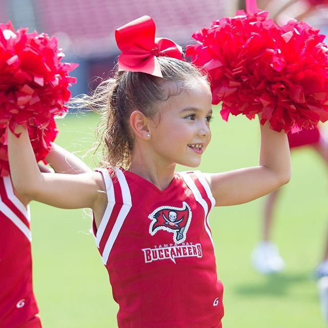 Don't forget to register for our 2016 Junior Tampa Bay Buccaneers Cheerleading program! Registration deadline is July 15th and space is limited.  Details: buccaneers.com/jrcheer ❤️☠