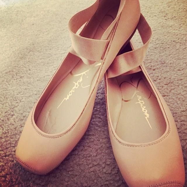 Jessica Simpson Mandalaye Elastic Ballet Flats - Shoes - Macy's