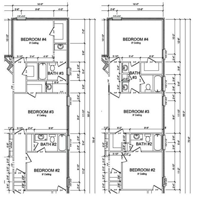 Bathroom Layout Jack And Jill 81 best floor plans images on pinterest | small houses, country