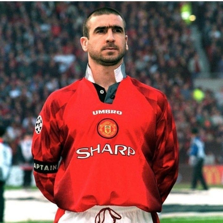 King eric played 143 games for man.utd. Manchester United Éric Cantona