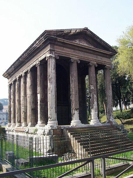 Temple of Portunus (120-80 BC), Palatino Hill in Rome