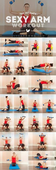 The Ultimate Workout for Sexy, Sculpted Arms   Posted By: CustomWeightLossProgram.com  