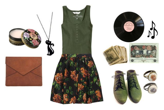 """listening to music"" by revesenrose ❤ liked on Polyvore"