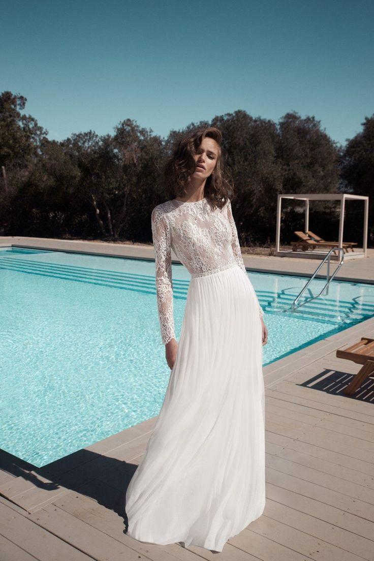 118 best bohemian wedding dresses images on Pinterest