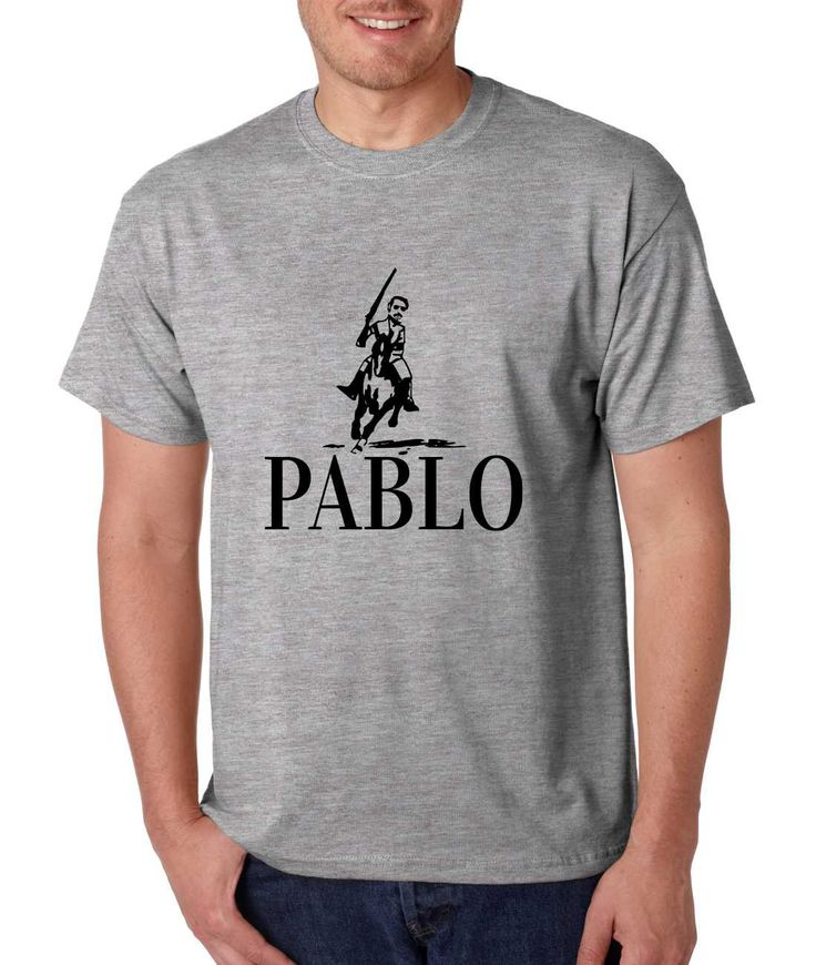 Men's T Shirt Pablo Escobar El Patron Mexicanos Cool T Shirt