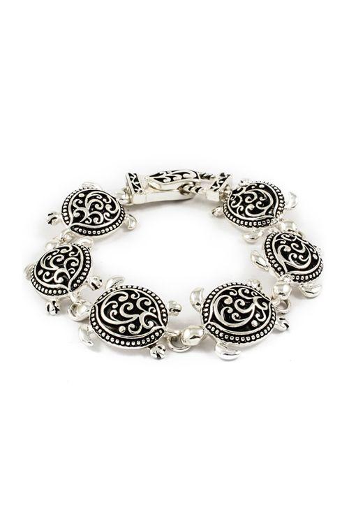 Turtle Charm Bracelet - Emma Stine Limited  Allison would love this,