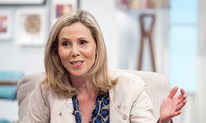 Sally Phillips on ITV's Lorraine show.