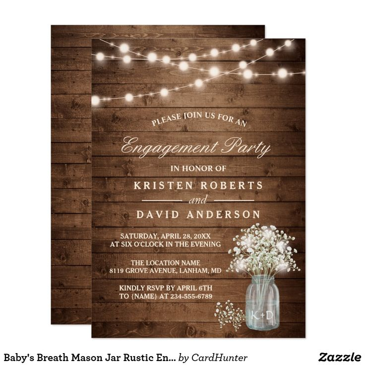 24 best Engagement Party Invitations images on Pinterest ...
