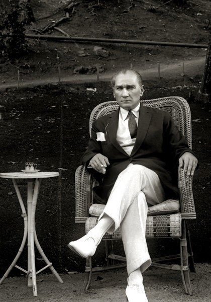Ataturk's got swag for sure.