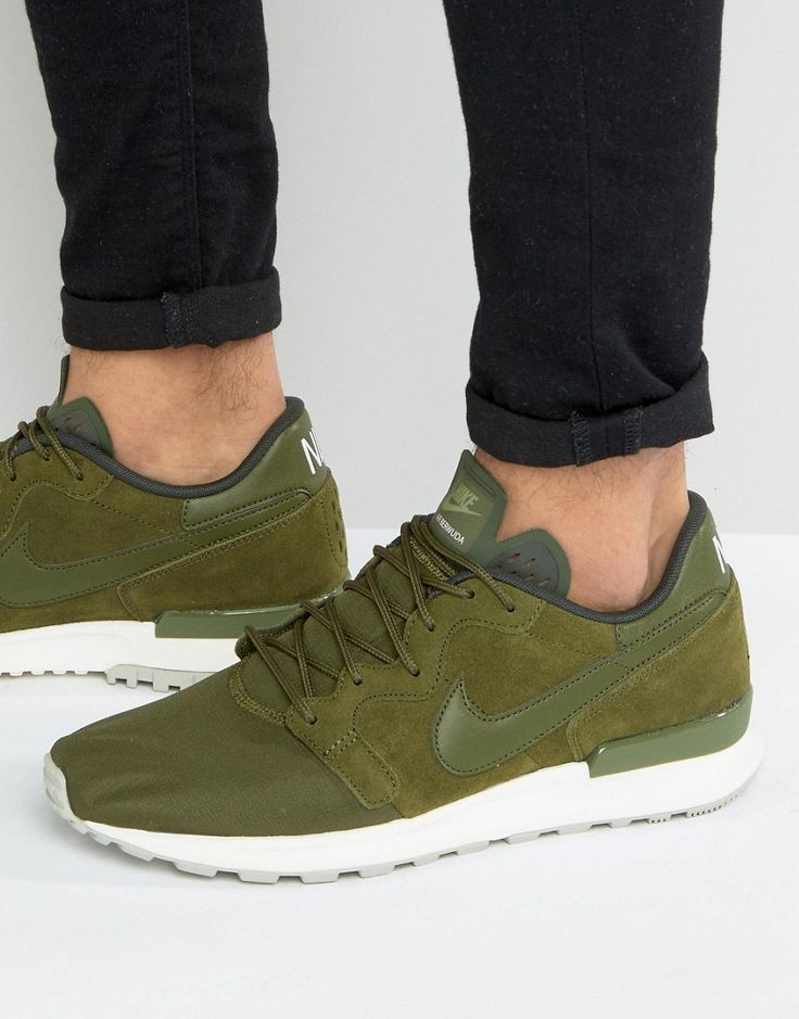 Get this Nike's sneakers now! Click for more details. Worldwide shipping. Nike Air Berwuda Premium Trainers In Green 844978-300 - Green: Trainers by Nike, Supplier code: 844978-300, Breathable mesh upper, Suede overlay, Lace-up fastening, Nike Swoosh to side panel, Branded tongue and cuff, Padded for comfort, Chunky sole, Moulded tread. Back in 1971 Blue Ribbons Sports introduced the concept of the Greek Goddess of Victory - Nike. Founded a year later in 1972, Nike have a long and esteemed…