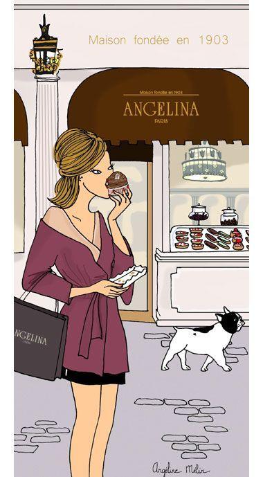 Angelina -Do It In Paris