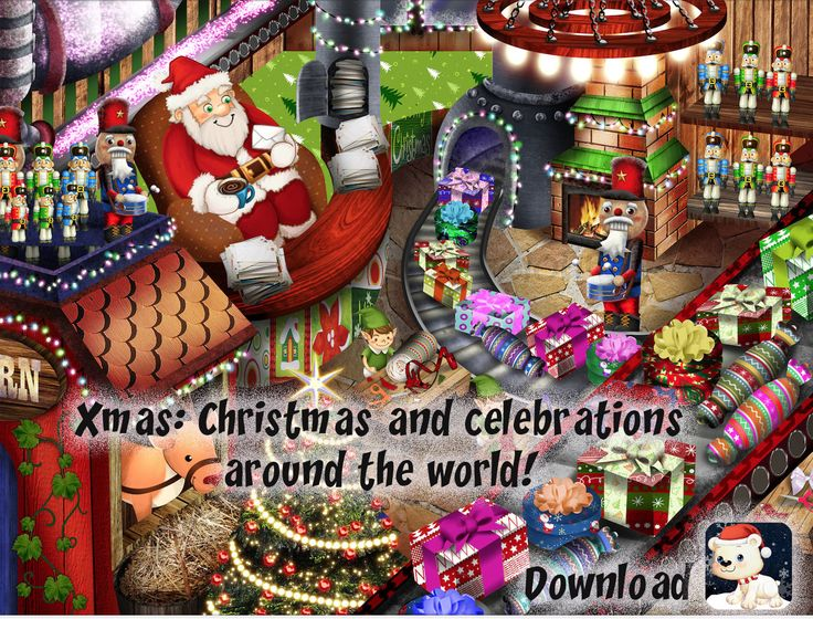 Xmas: christmas and celebratiosn around the world!