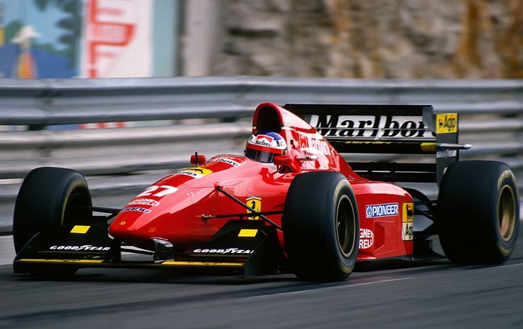 1994 monaco ferrari 412t1 jean alesi ferrari pinterest monaco ferrari f1 and ferrari. Black Bedroom Furniture Sets. Home Design Ideas