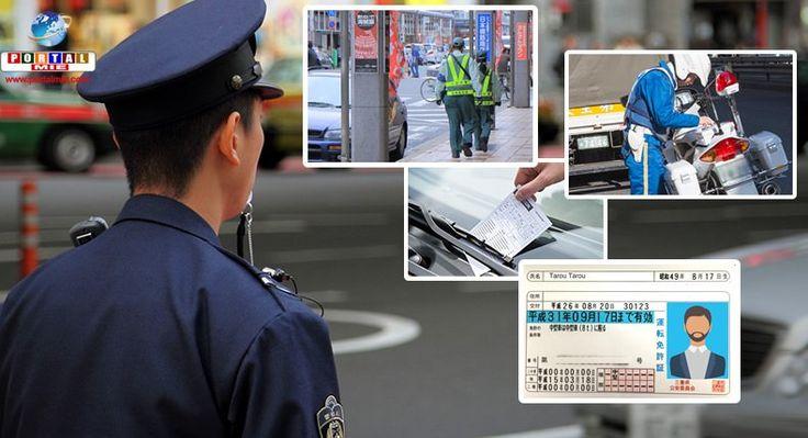 Carta de motorista no Japão: compreenda como funcionam os pontos das infrações de trânsito e as respectivas multas e penalidades.