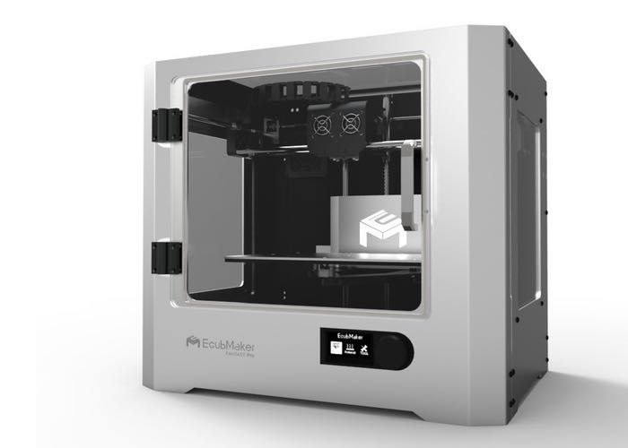EcubMaker Fantasy Pro II 3D Printer Unveiled Digitmakers.ca will be receiving the first shipment soon