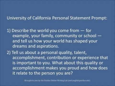 Help me write a personal statement brilliant