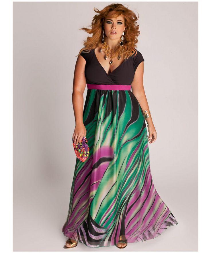 moda tallas grandes vipmujer vestidos