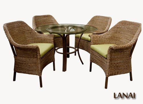 54 Best Capris Furniture  Httpwwwamericanrattan Delectable Indoor Wicker Dining Room Sets Inspiration