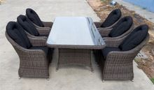 Victorian jardín rota DEL PE al aire libre juego de mesa muebles usados mesas y sillas de jardín para la venta