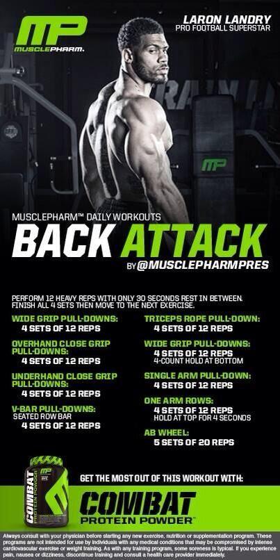 Back Workout #Fitness #fitspo