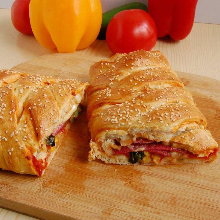 Stromboli przepis - zjem to blog kulinarny