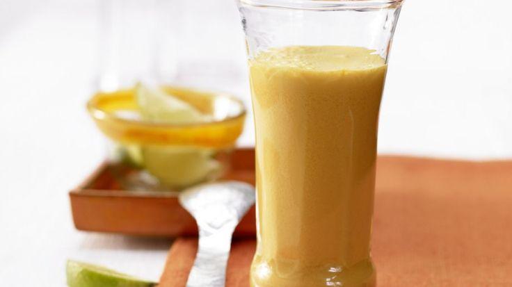 In nur 5 Minuten trinkbereit: Möhren-Orangen-Drink mit Quark   http://eatsmarter.de/rezepte/moehren-orangen-drink