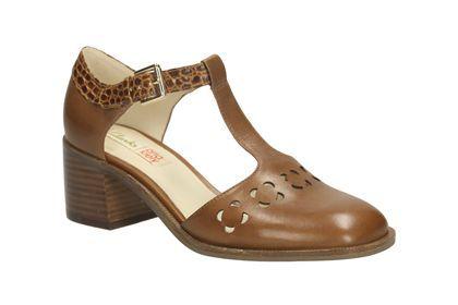 Orla Bibi (Tan) || Clarks shoes || £120