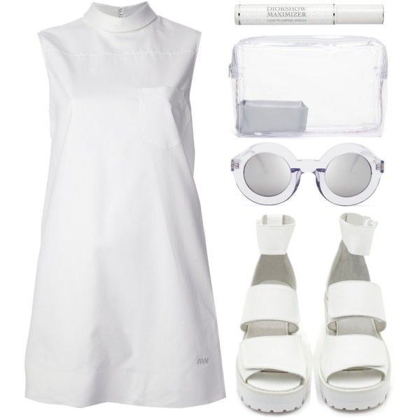 """Look 18 - Space"" by splashthestyle on Polyvore polyvore, fashion set, fashion, ootd, collage, minimal, outfit"