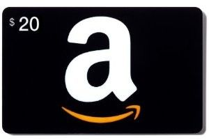 Amazon gift cards are perfect!