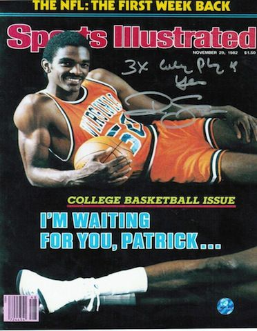 """Autographed Ralph Sampson Virginia Cavaliers 8x10 Photo Inscribed """"""""3X College Player of the Year"""""""""""