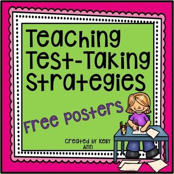 Test Prep Strategies Posters:There are 6 vibrant posters to display test-taking strategies (for multiple-choice questions