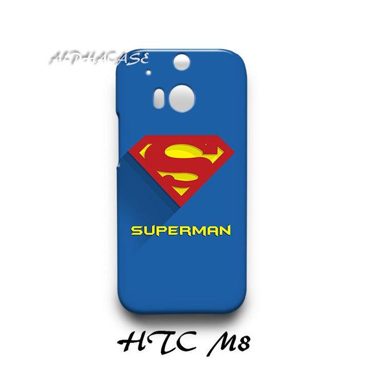 Superman Superhero HTC M8 Hardshell Case