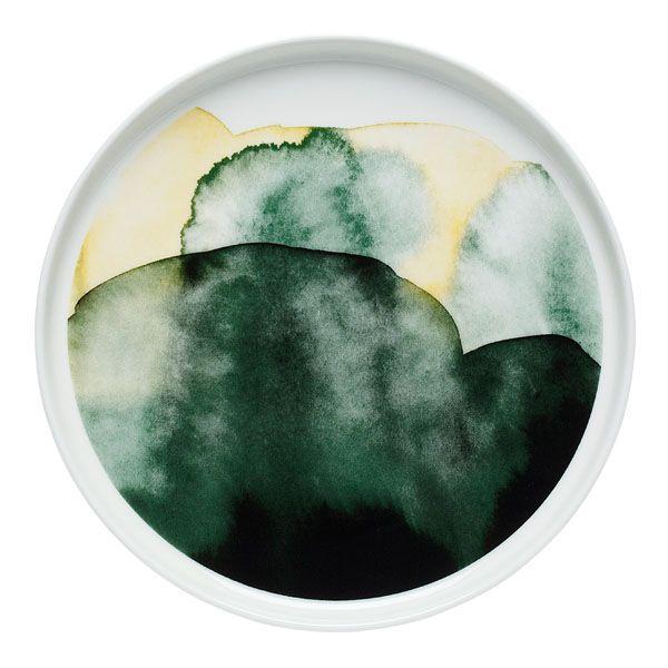 Weather Diary (Sääpäiväkirja) plate by Marimekko.