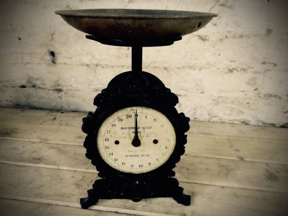 Vintage salter scales no. 49 by laurasvintagebarn on Etsy