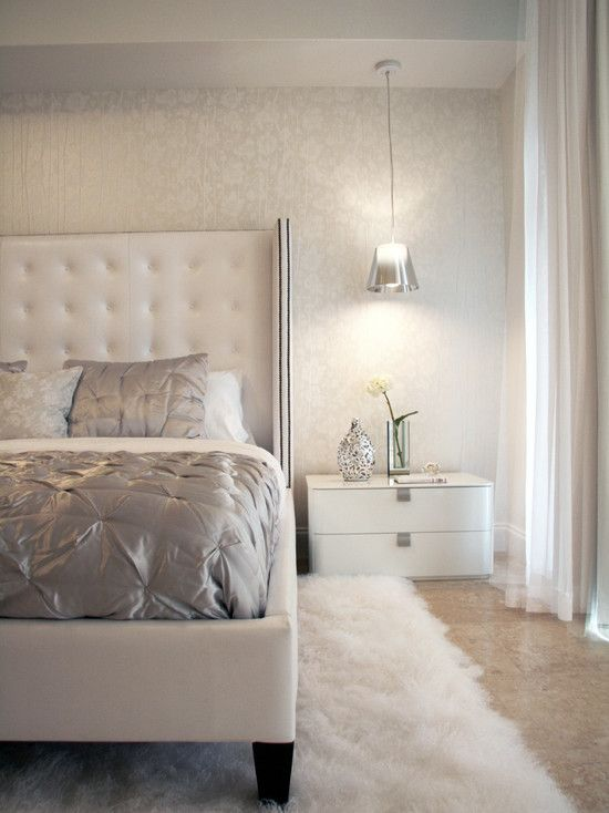 Best 25 White leather bed ideas on Pinterest White bedding