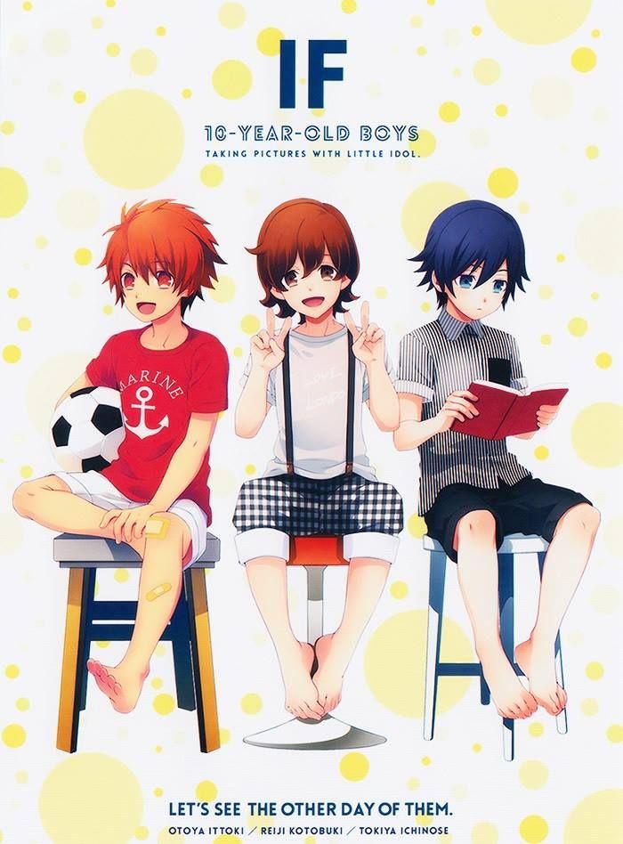 Uta no Prince-sama - Ittoki Otoya, Kotobuki Reiji, and Ichinose Tokiya