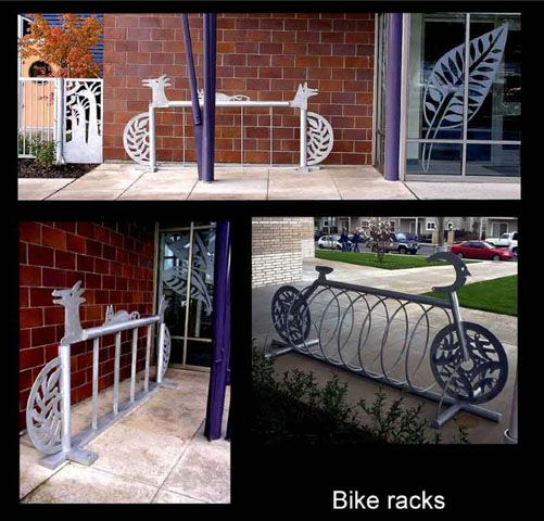 84 best bike racks images on pinterest bike floor stand for Outdoor furniture jeddah