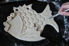 Salt dough fish tutorial – #Dough #Fish #Salt #sal…
