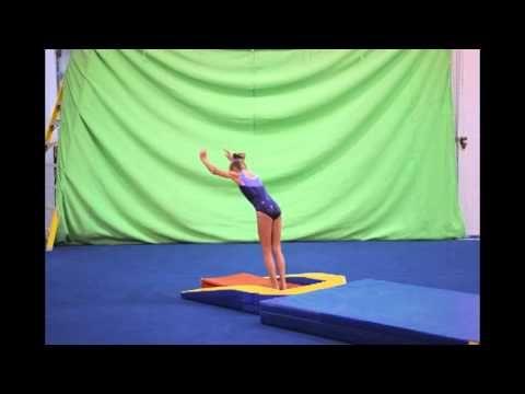 Yurchenko drills --- beginning round-offs onto the board