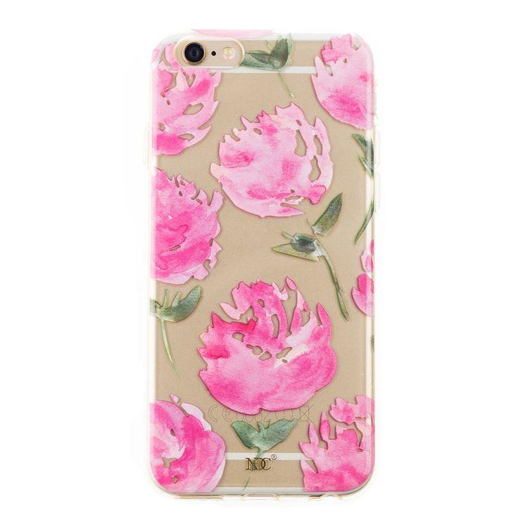 Peony iPhone case by NUNUCO® #iphonecase #nunucodesign