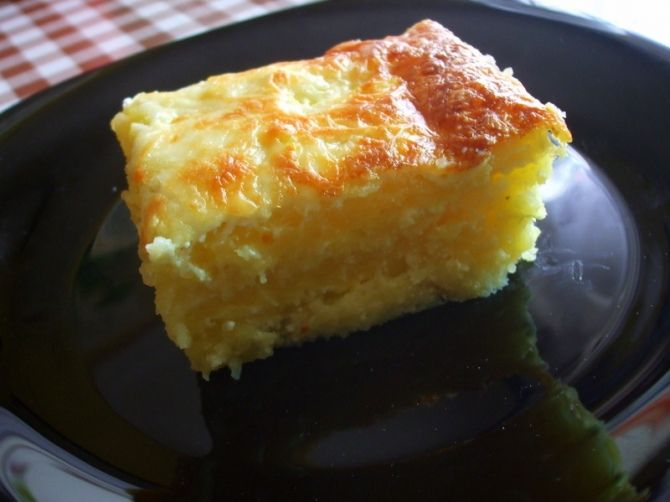 Sajtos burgonya recept
