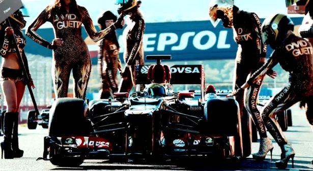 Cars - F1 : David Guetta fait honte à la discipline ! - http://lesvoitures.fr/f1-david-guetta-dangerous-video/