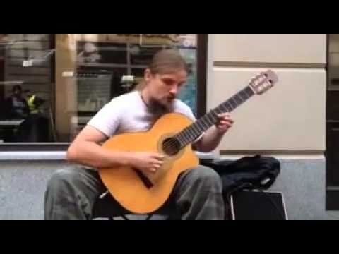 Amazing street guitarist from Katowice. #katowice #guitar #music